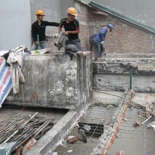 Tháo dỡ nhà,xưởng, đập tường, tháo mái - ALoFix 247