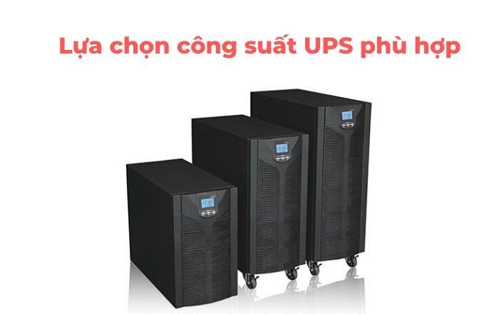 lưu ý gì khi mua UPS lưu điện