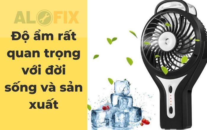 Máy tạo ẩm là gì? Phân loại và So sánh 3 loại máy tạo ẩm thông dụng?
