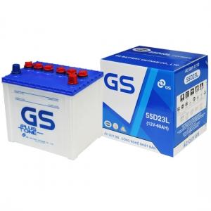Thông số sản phẩm Acquy GS 55D23R/L (12V - 60Ah)