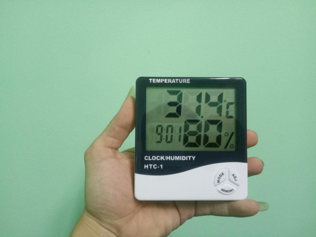Đồng hồ báo nhiệt độ, độ ẩm cho nhà yến - Kỹ thuật vận hành nhà yến