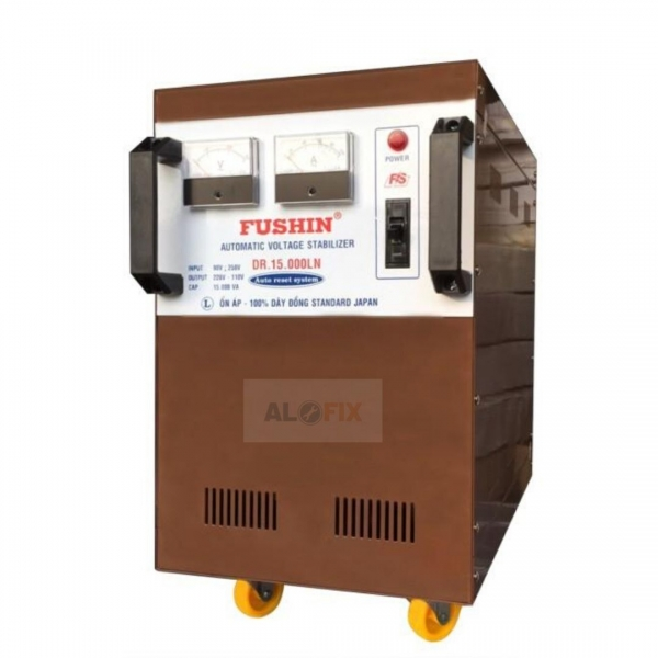 Thông số Ổn áp Fushin 20KVA dải 90V – 250V