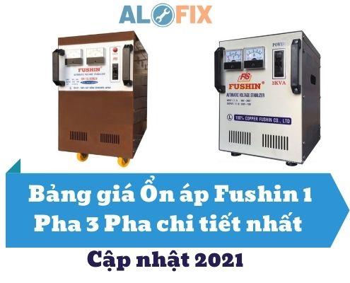 Bảng giá ổn áp Fushin 1 pha 3 pha chi tiết nhất cập nhật 2021