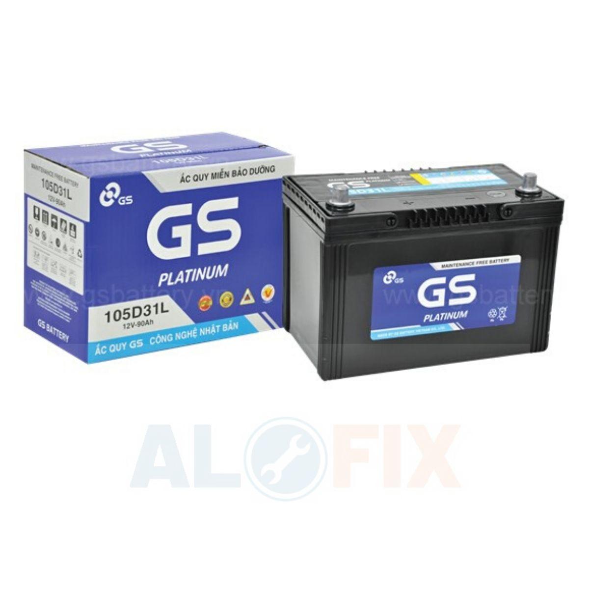 acquy GS khô kín khí 105D31 R/L