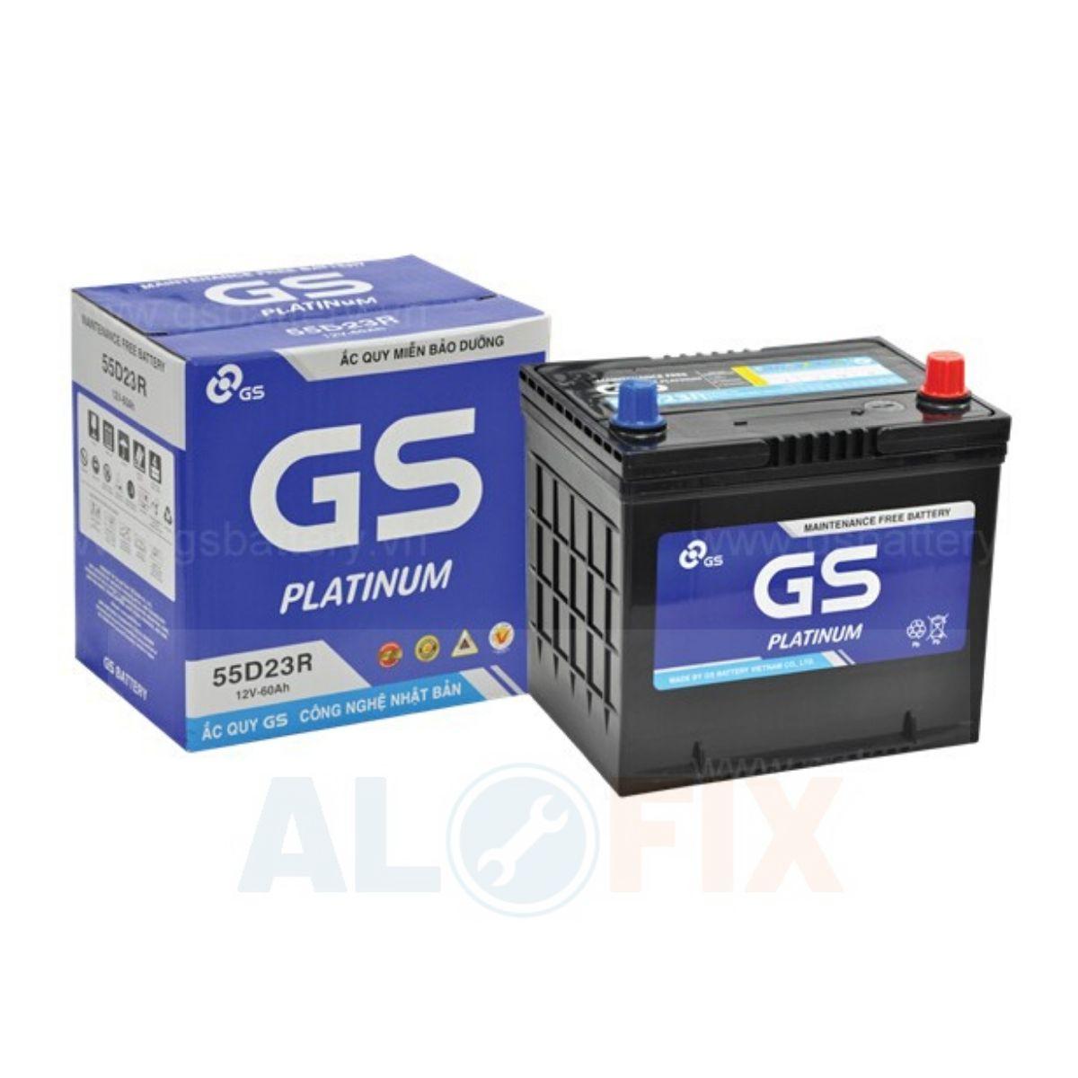 acquy GS khô kín khí 55D23 R/L