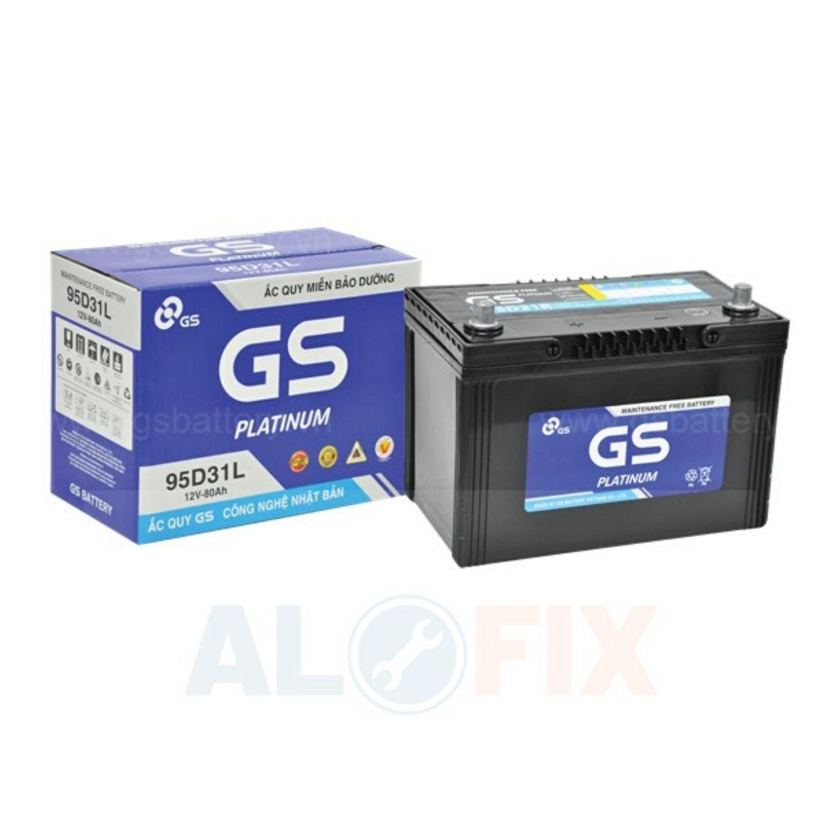 acquy GS khô kín khí 95D31 R/L