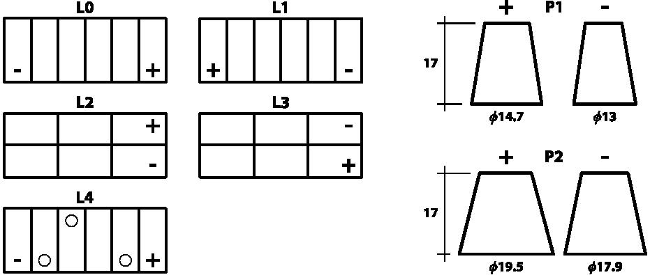 Ắc quy Enimac NS40Z 12V-40Ah TPHCM