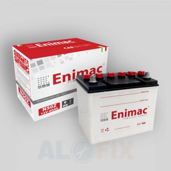 Ắc quy Enimac N50Z 12V-60Ah tại TPHCM