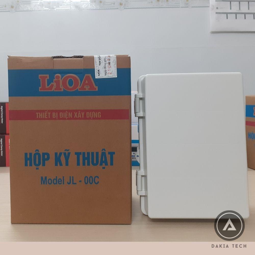 Hình mẫu Tủ nhựa Lioa JL-00C 23.5x17.8x12 cm