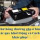 7 hư hỏng thường gặp ở bình ắc quy Khởi Động và Cách khắc phục