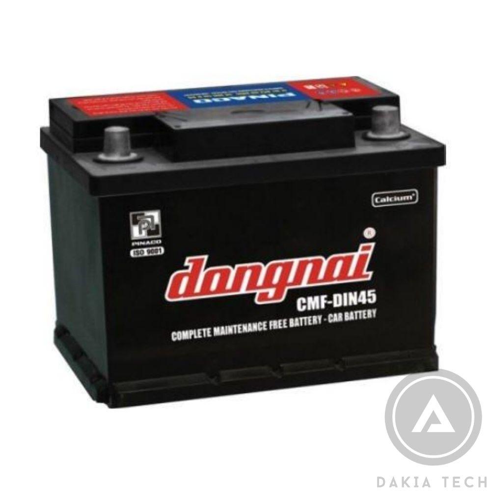Ắc quy Đồng Nai CMF DIN45 (12V - 45Ah)