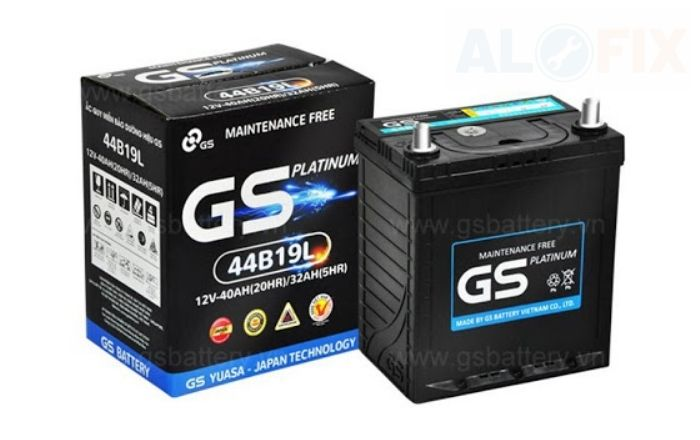 Bình ắc quy GS ô tô