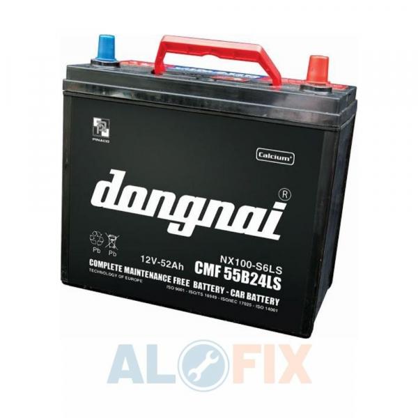 Alofix247 cung cấp Ắc Quy Đồng Nai khô kín CMF 55B24L (12V - 52Ah)