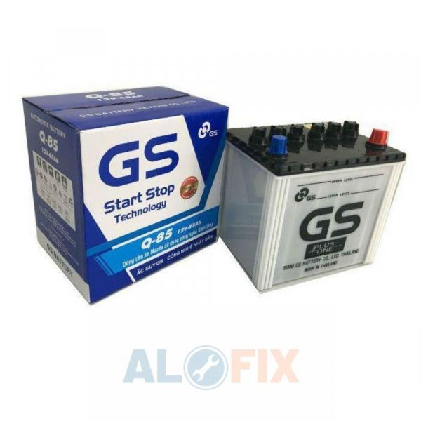 Ắc quy GS Q85 (12V - 65Ah) - Xe Mazda istop
