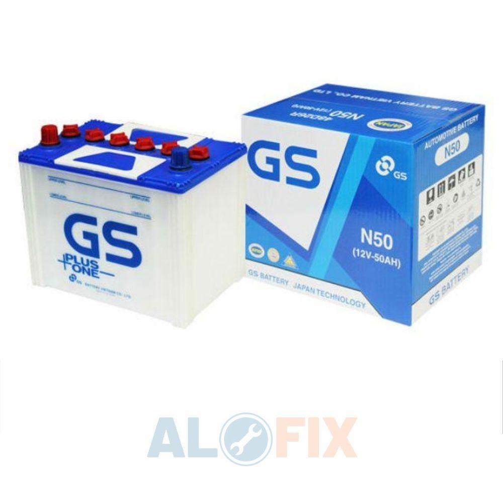 Ắc quy GS N50/ N50L (12V - 50Ah)