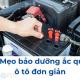 4 Mẹo bảo dưỡng ắc quy ô tô đơn giản