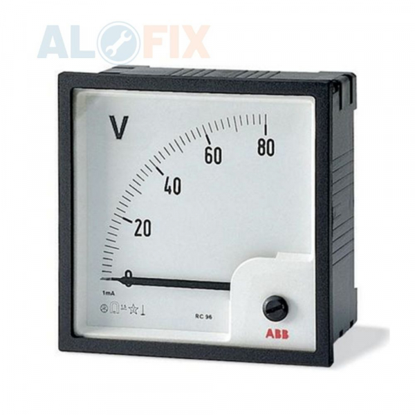 Đồng hồ đo Vôn CNC 96×96