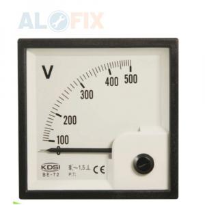 Đồng hồ đo Vôn CNC 72×72