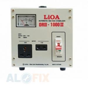 Ổn áp LIOA 1KVA DRII (50V-250V)