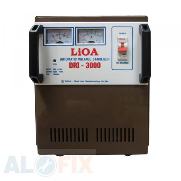Ổn áp LIOA 3KVA DRI (90-250V)
