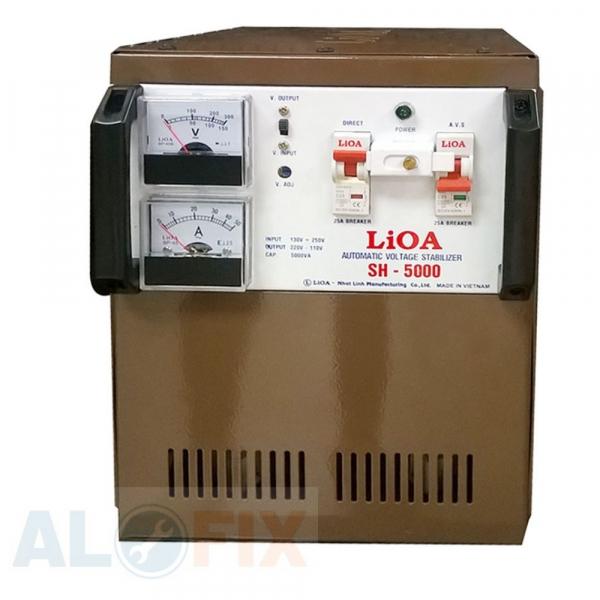 Ổn áp LIOA 5KVA SH (150V-250V)