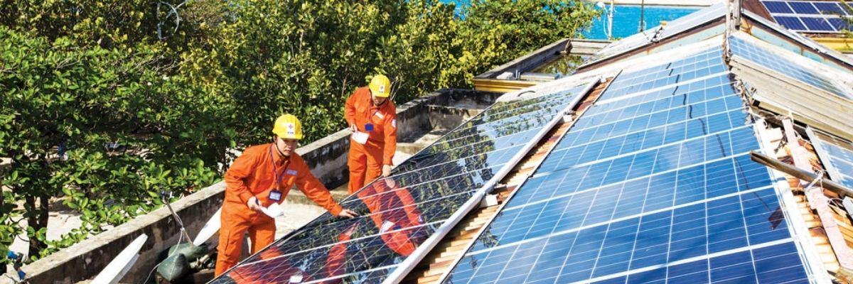 lắp đặt hệ thống năng lượng mặt trời dân dụng