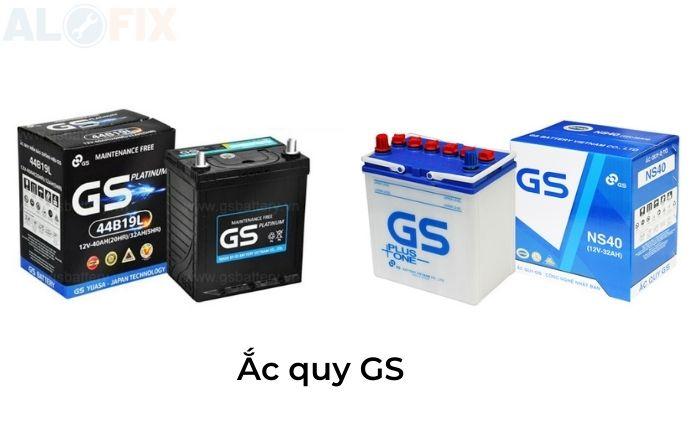Thương hiệu ắc quy GS