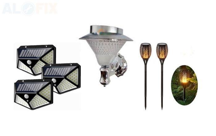 Đèn LED trang trí năng lượng mặt trời