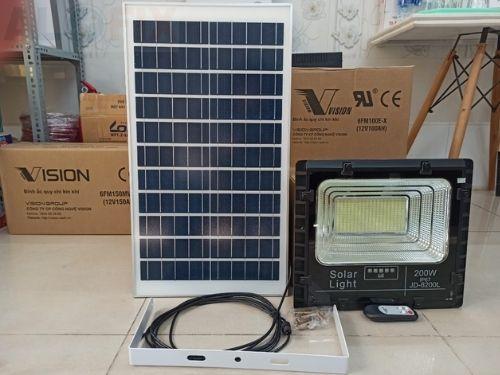 đèn năng lượng mặt trời 200W JD-8200L