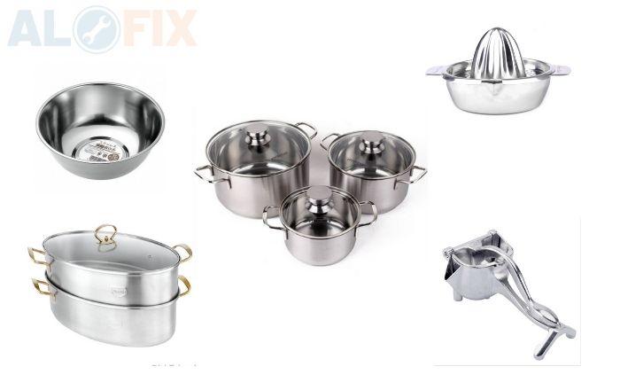 Inox 304 sử dụng trong lĩnh vực thực phẩm