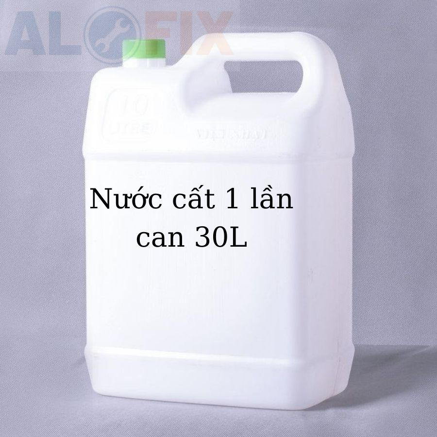 Nước cất châm bình Acquy - can 30L